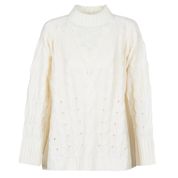Abbigliamento Donna Maglioni Betty London LOYD Ecru
