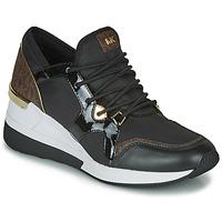 Scarpe Donna Sneakers basse MICHAEL Michael Kors LIV TRAINER Nero / Marrone