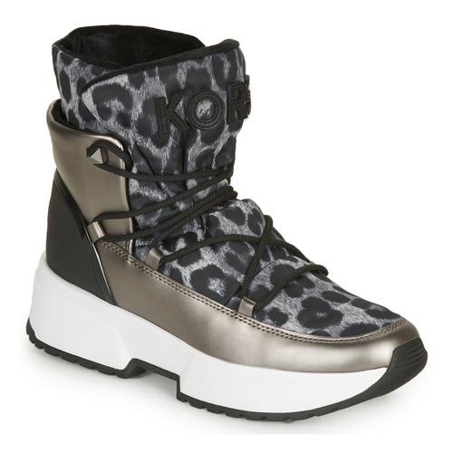 Scarpe Donna Stivali da neve MICHAEL Michael Kors CASSIA BOOTIE Leopard