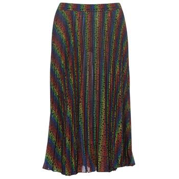 Abbigliamento Donna Gonne MICHAEL Michael Kors MULTI LOGO PLEAT SKRT Multicolore