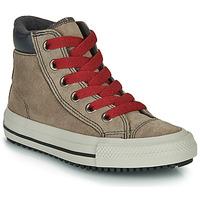 Scarpe Sneakers alte Converse CHUCK TAYLOR ALL STAR PC BOOT BOOTS ON MARS - HI Marrone