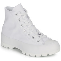 Scarpe Donna Sneakers alte Converse CHUCK TAYLOR ALL STAR LUGGED - HI Bianco