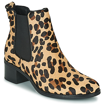Scarpe Donna Stivaletti Betty London HASNI Leopard