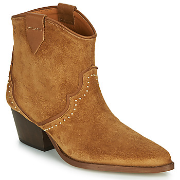 Scarpe Donna Stivaletti Betty London LOUELLA Camel