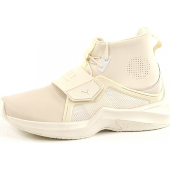 Scarpe Donna Sneakers alte Puma The Trainer HI by Fenty Beige