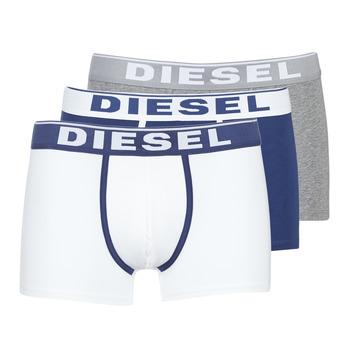 Biancheria Intima  Uomo Boxer Diesel DAMIEN Bianco / Marine / Grigio