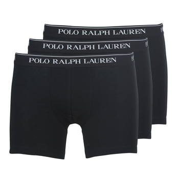 Biancheria Intima  Uomo Boxer Polo Ralph Lauren BOXER BRIEF-3 PACK Nero