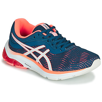 Scarpe Donna Running / Trail Asics GEL-PULSE 11 Blu / Rosa