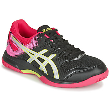 Scarpe Donna Sport Indoor Asics GEL-ROCKET 9 Nero / Rosa