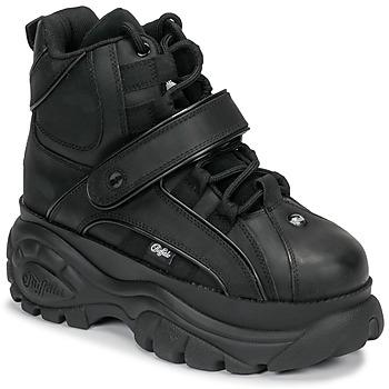 Scarpe Donna Sneakers alte Buffalo 1348 Nero