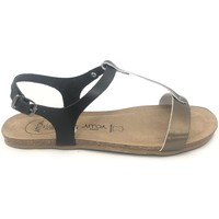 Scarpe Donna Sandali Amoa sandales SANARY Noir/Aciero Nero