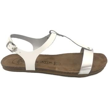 Scarpe Donna Sandali Amoa sandales SANARY Blanc/Argent Bianco