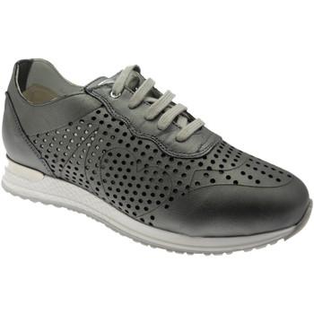 Scarpe Donna Sneakers basse Loren LOC3845gr grigio