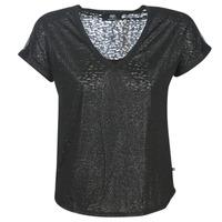 Abbigliamento Donna T-shirt maniche corte Le Temps des Cerises OKINAWA Nero