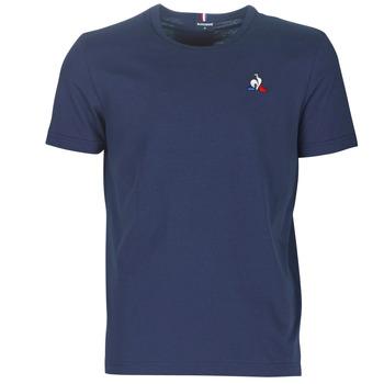 Abbigliamento Uomo T-shirt maniche corte Le Coq Sportif ESS TEE SS N°2 M Blu / Marine