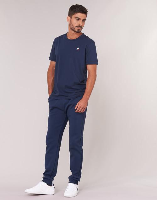 Gratuita T Corte Sportif N°2 Maniche Abbigliamento shirt Ss Uomo M Coq Ess Tee 2700 Le BluMarine Consegna lFKc1J