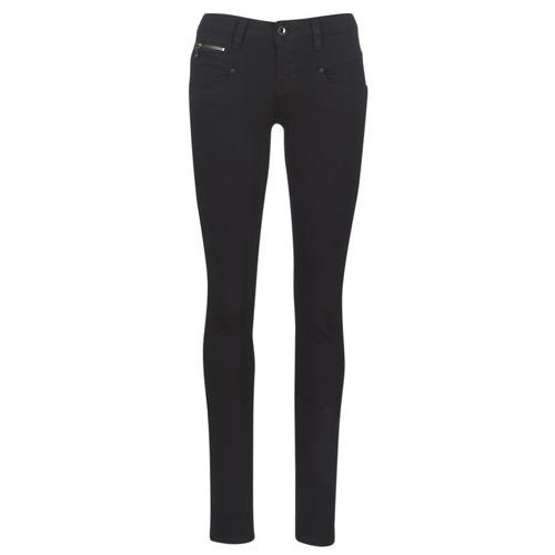 Abbigliamento Donna Jeans slim Freeman T.Porter ALEXA SLIM S-SDM Nero