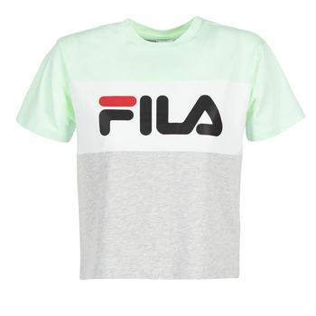 Abbigliamento Donna T-shirt maniche corte Fila ALLISON TEE Blu / Grigio