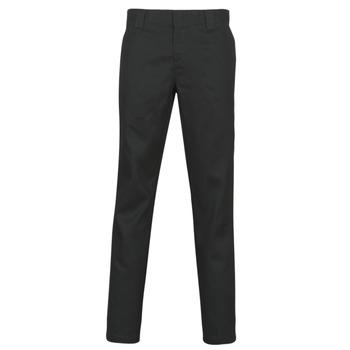 Abbigliamento Uomo Pantaloni 5 tasche Dickies SLIM FIT WORK PNT Nero