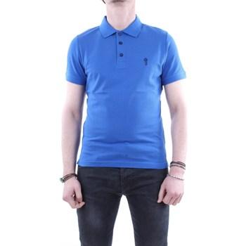 Abbigliamento Uomo Polo maniche corte Markup m59101 Maniche Corte Uomo Blu Blu