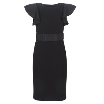Abbigliamento Donna Abiti corti Lauren Ralph Lauren JERSEY SLEEVELESS COCKTAIL DRESS Nero