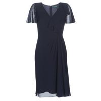 Abbigliamento Donna Abiti lunghi Lauren Ralph Lauren CUTLER CAP SLEEVE DAY DRESS Marine