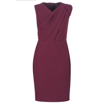 Abbigliamento Donna Abiti lunghi Lauren Ralph Lauren RUBY SLEEVELESS DAY DRESS Bordeaux