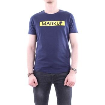 Abbigliamento Uomo T-shirt maniche corte Markup m59171 Manica Corta Uomo Blu Blu