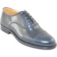 Scarpe Uomo Derby & Richelieu Malu Shoes Scarpe uomo fondo gomma antiscivolo vera pelle abrasivato blu p BLU
