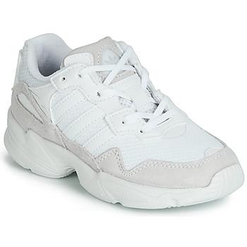 Scarpe Unisex bambino Sneakers basse adidas Originals YUNG-96 C Bianco