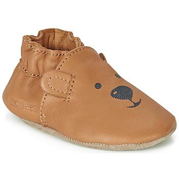 Scarpe Unisex bambino Scarpette neonato Robeez SWEETY BEAR Camel