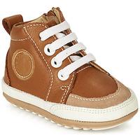 Scarpe Unisex bambino Sneakers alte Robeez MIGO Cognac