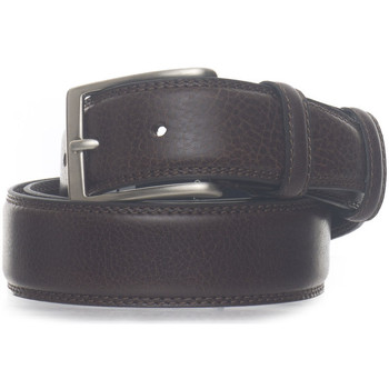Accessori Uomo Cinture Angelo Nardelli Cintura in pelle Marrone Pelle Uomo marrone