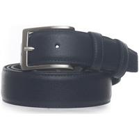 Accessori Uomo Cinture Angelo Nardelli Cintura in pelle Blu Pelle Uomo blu
