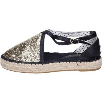 Scarpe Donna Espadrillas O-joo sandali glitter pelle sintetica oro