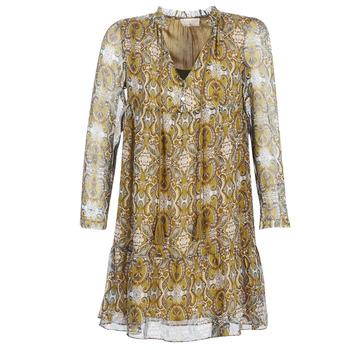 Abbigliamento Donna Abiti corti Moony Mood LONI Giallo
