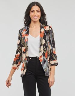 Abbigliamento Donna Giacche / Blazer Betty London IOUPA Nero / Multicolore