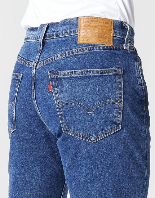 Gratuita 8900 Consegna Dritti Uomo Jeans StonewashStretch 514 Abbigliamento Levi's Straight orWxBCed