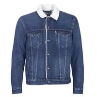 Abbigliamento Uomo Giacche in jeans Levi's TYPE 3 SHERPA TRUCKER Palmer