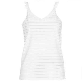 Abbigliamento Donna Top / Blusa Betty London KATACEL Bianco / Dore