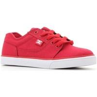 Scarpe Unisex bambino Sneakers basse DC Shoes Tonik TX Rosso
