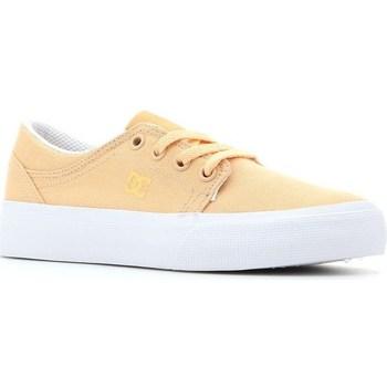 Scarpe Unisex bambino Tennis DC Shoes Trase TX Giallo