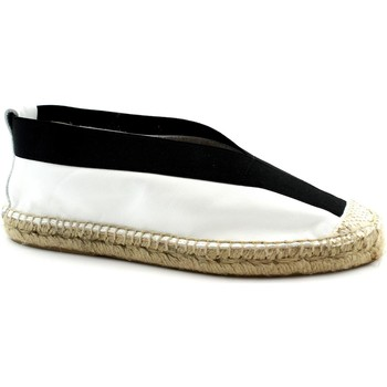 Scarpe Donna Espadrillas Ska -E19-RAUL-BI Bianco