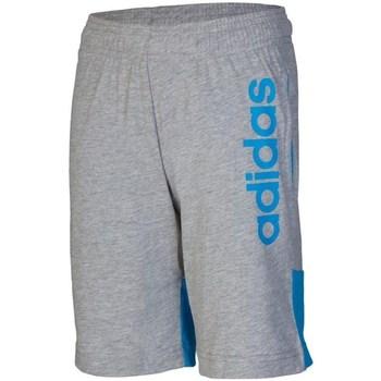 Abbigliamento Unisex bambino Shorts / Bermuda adidas Originals DY3440 Grigio
