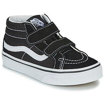 Scarpe Unisex bambino Sneakers alte Vans UY SK8-MID REISSUE V Nero / Bianco