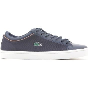 Scarpe Uomo Sneakers basse Lacoste Straightset Sport 118 3 Blu marino