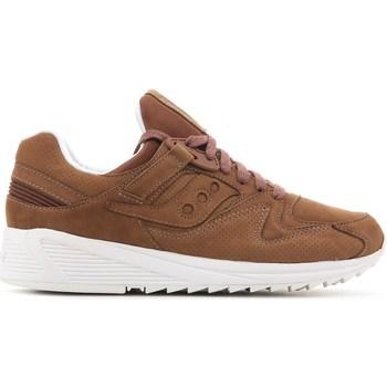 Scarpe Uomo Sneakers basse Saucony Grid 8500 HT Marrone