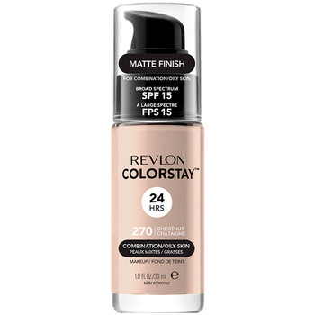 Bellezza Donna Fondotinta & primer Revlon Colorstay Foundation Combination/oily Skin 270-chestnut 30 ml