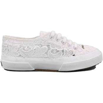 Scarpe Bambina Sneakers basse Superga 128 - S008YB0 Bianco