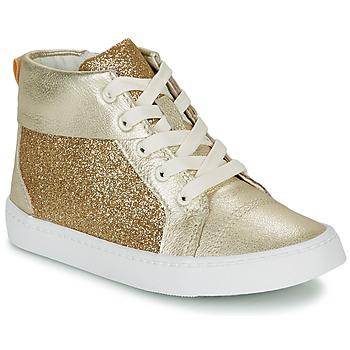 Scarpe Bambina Sneakers alte Clarks CITY OASISHI K Oro